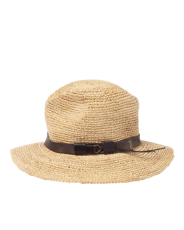 шляпа P.A.R.O.S.H. BOSSYCAPD010020 s бежевый+коричневый