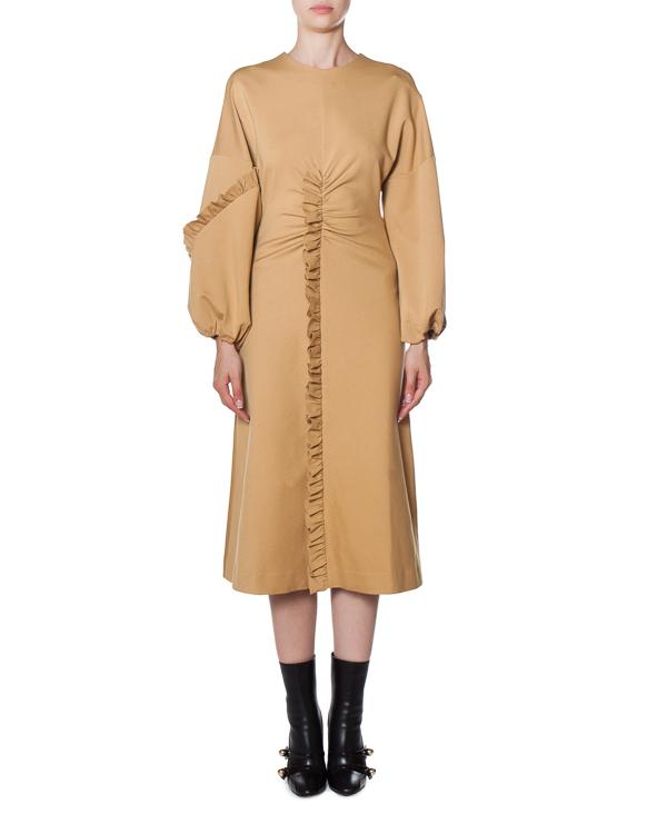 платье миди с оборками  артикул BSK15145 марки TIBI купить за 22100 руб.