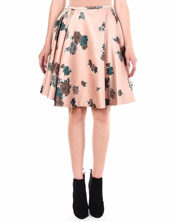 юбка расклешенного силуэта, с посадкой на талии артикул C081N марки № 21 купить за 27900 руб.