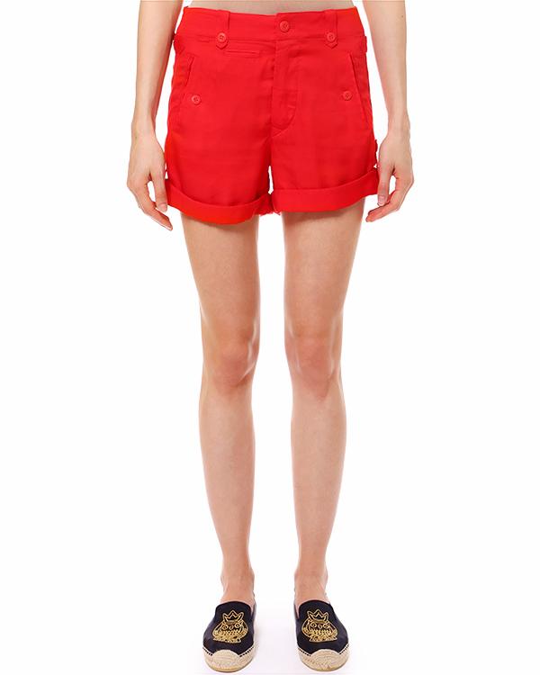 шорты с отворотами и прорезными карманами по бокам артикул C61ISNTA марки Polo by Ralph Lauren купить за 4400 руб.