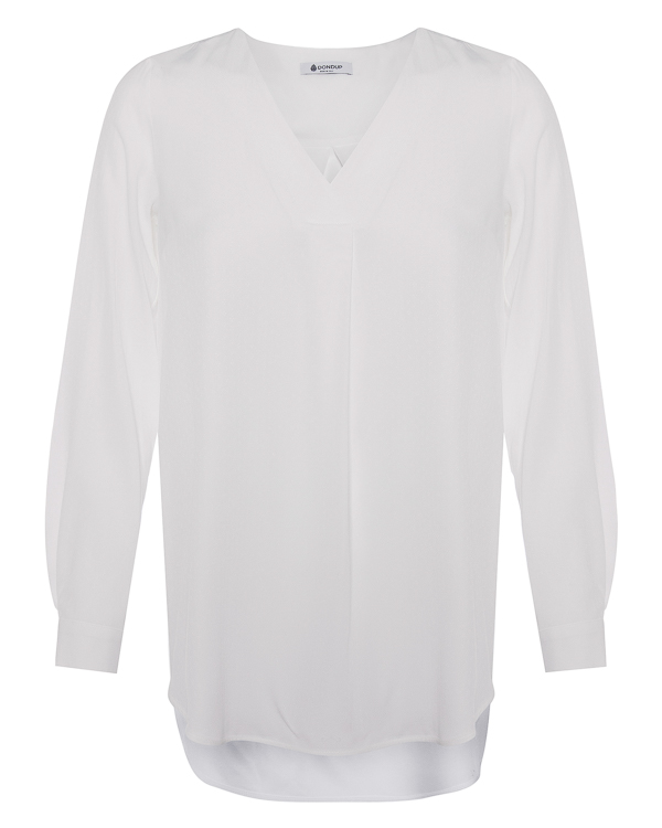 блуза удлиненного силуэта  артикул C924 марки DONDUP купить за 16000 руб.