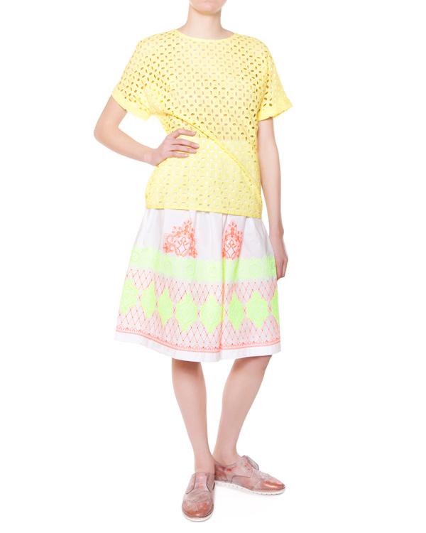 женская юбка P.A.R.O.S.H., сезон: лето 2015. Купить за 9700 руб. | Фото $i