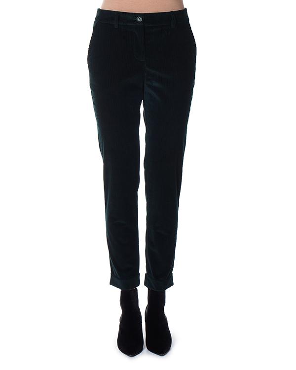брюки зауженного силуэта из вельвета  артикул CAMDEN230220 марки P.A.R.O.S.H. купить за 11700 руб.