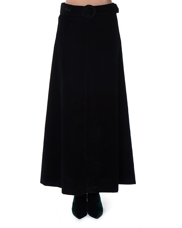 юбка макси А-образного силуэта  артикул CAMDEN620218 марки P.A.R.O.S.H. купить за 16900 руб.