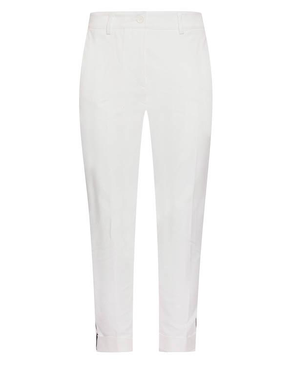 брюки прямого силуэта с лампасами артикул CANDELAX230123BX марки P.A.R.O.S.H. купить за 17800 руб.
