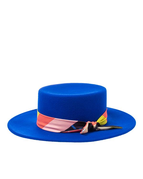 шляпа Saint MAEVE CANOTIER-M 56-57 синий