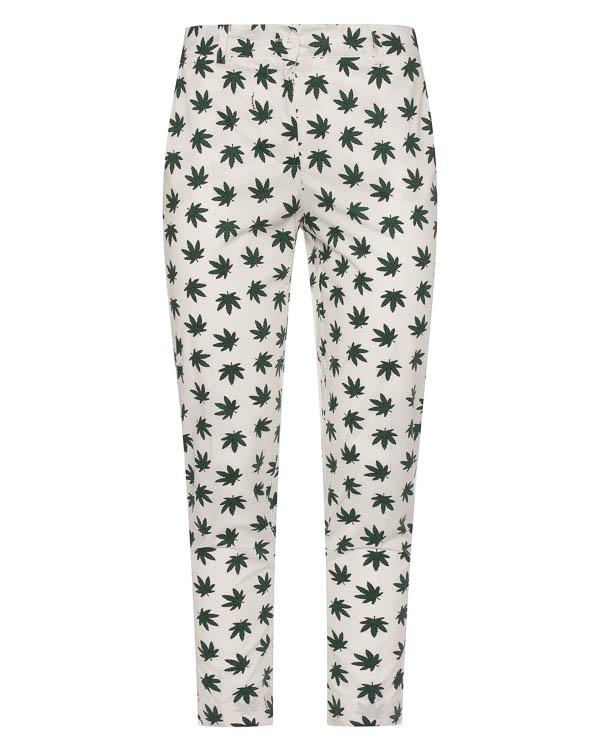 брюки прямого силуэта с принтом артикул CARAMELLA230273 марки P.A.R.O.S.H. купить за 14700 руб.