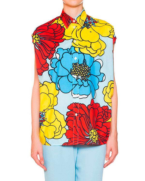 женская блуза P.A.R.O.S.H., сезон: лето 2015. Купить за 1700 руб. | Фото 0