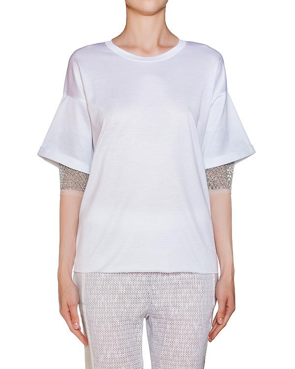 женская футболка AVIU, сезон: лето 2016. Купить за 8500 руб. | Фото $i
