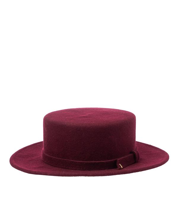 шляпа Saint MAEVE CANOTIER 56-57 бордовый