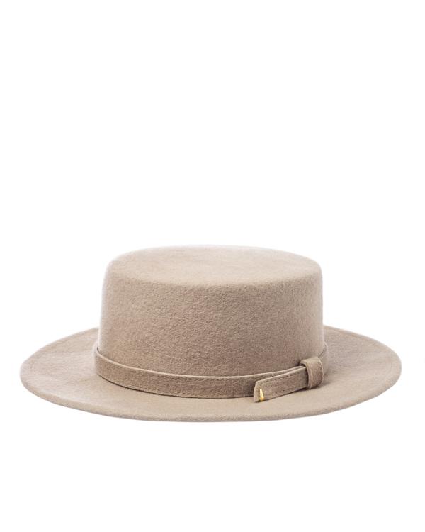 шляпа Saint MAEVE CANOTIER 57-58 оливковый