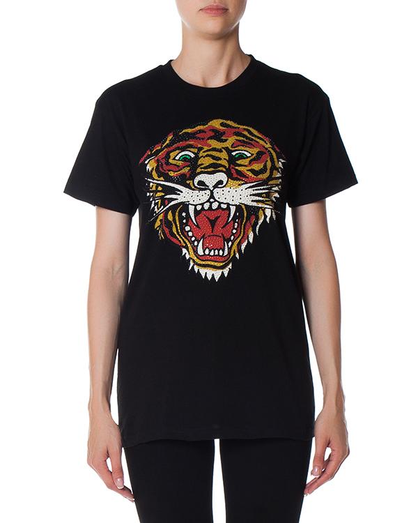 футболка из трикотажного хлопка с принтом артикул CIGRIS110022 марки P.A.R.O.S.H. купить за 6400 руб.