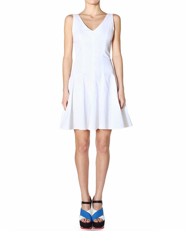 платье приталенного силуэта, корсажного кроя, с расклешенным подолом артикул CIQUET720073 марки P.A.R.O.S.H. купить за 13800 руб.