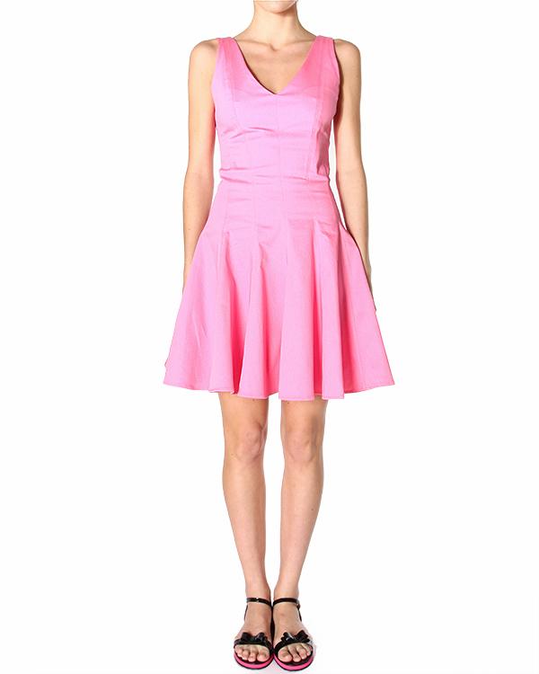 платье приталенного силуэта, корсажного кроя, с расклешенным подолом артикул CIQUET720073 марки P.A.R.O.S.H. купить за 8300 руб.