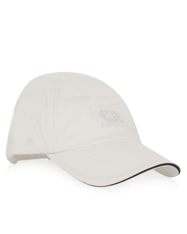 бейсболка из хлопка с объемной вышивкой логотипа бренда артикул CMAC123A марки C.P.Company купить за 5700 руб.