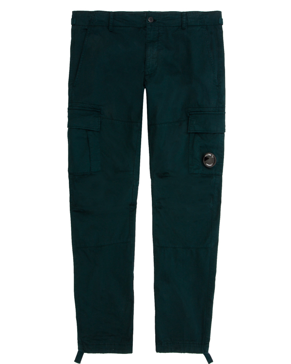 брюки из хлопка с накладными карманами  артикул CMPA156A марки C.P.Company купить за 16800 руб.