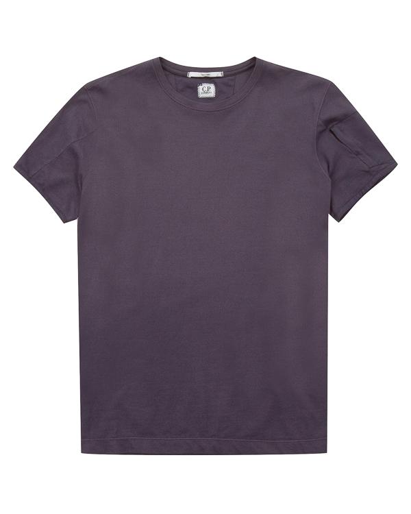 футболка прямого силуэта из хлопка  артикул CMTS147A марки C.P.Company купить за 8600 руб.
