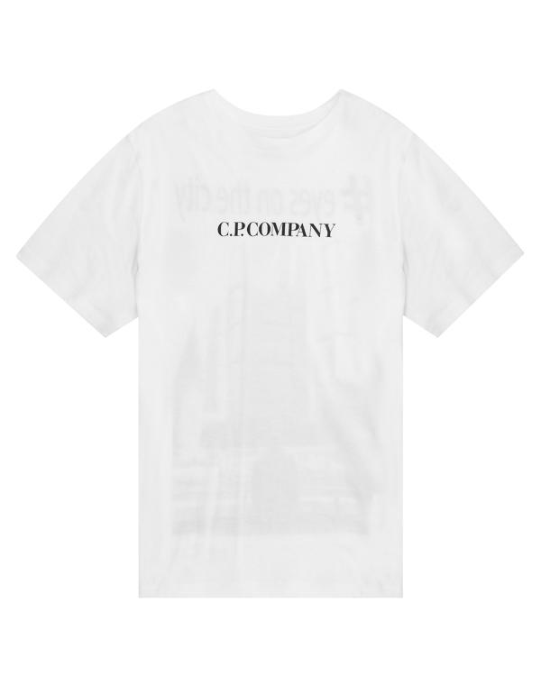C.P.Company  из хлопка с принтом  артикул CMTS220A марки C.P.Company купить за 7600 руб.