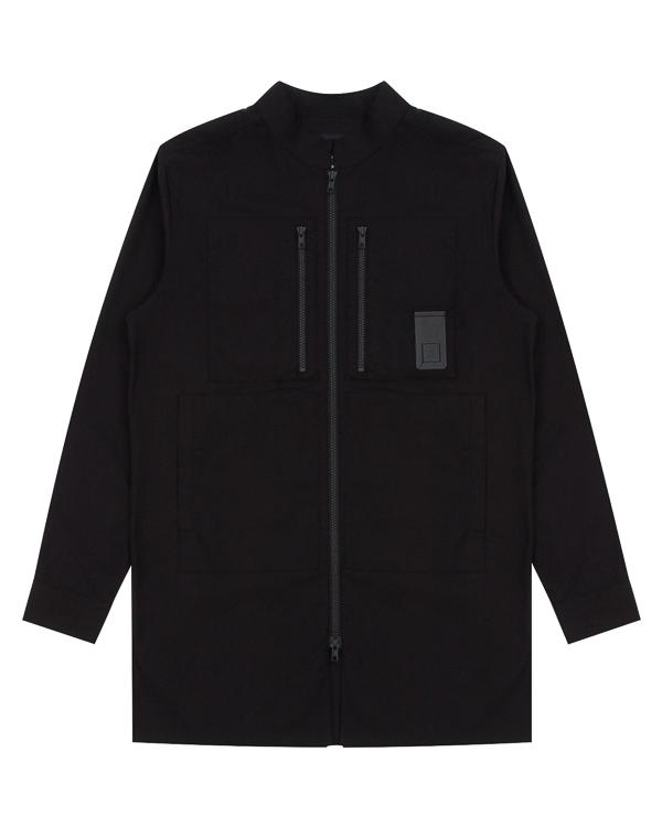 рубашка из хлопка на молнии артикул CNTSHI01 марки Letasca купить за 8800 руб.
