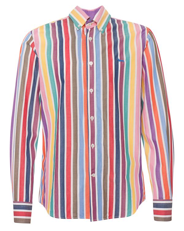 Harmont & Blaine из хлопка в цветную полоску артикул  марки Harmont & Blaine купить за 9200 руб.