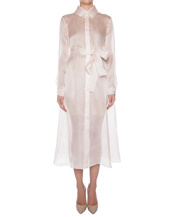 платье из легкой полупрозрачной шелковой органзы артикул D0843391 марки Graviteight купить за 27700 руб.