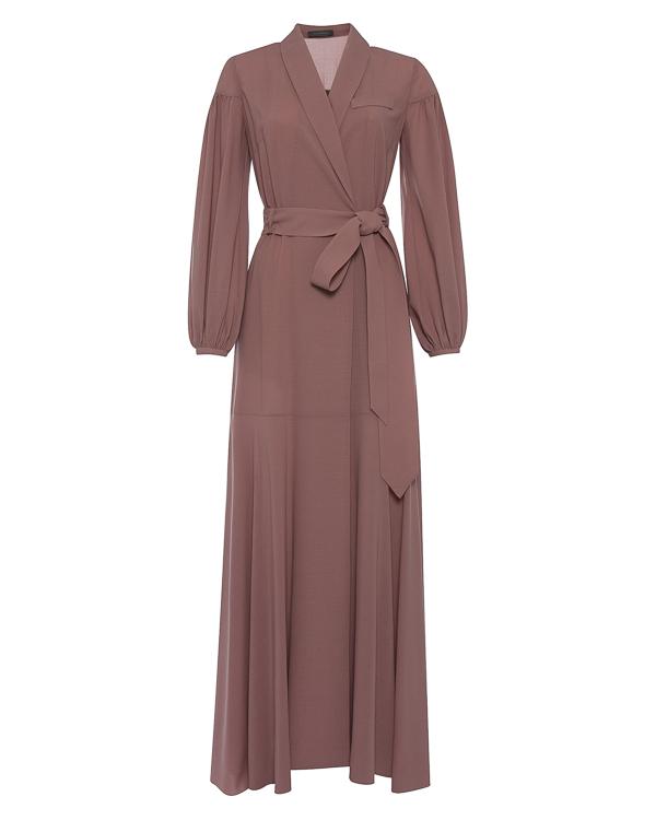 платье в пол из тонкого шерстяного материала  артикул D16621352 марки Graviteight купить за 73500 руб.