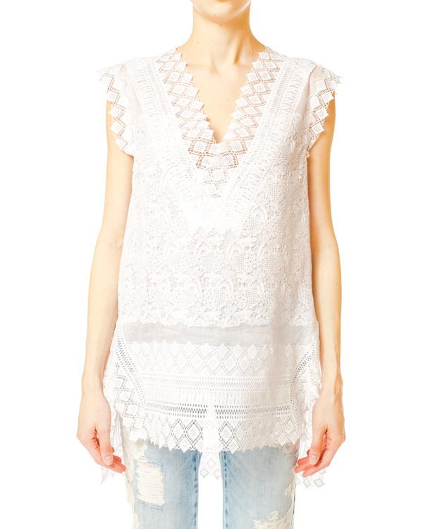 женская блуза ERMANNO SCERVINO, сезон: лето 2014. Купить за 30200 руб. | Фото $i