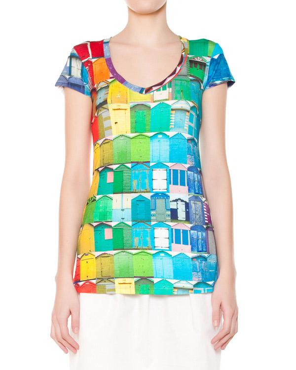 женская футболка Ultra Chic, сезон: лето 2015. Купить за 4100 руб. | Фото $i