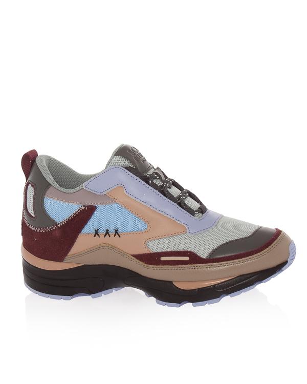 кроссовки из текстиля с кожаной отделкой  артикул DG4DX18012 марки Suecomma Bonnie купить за 23500 руб.