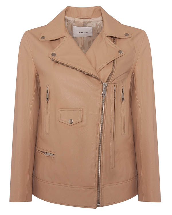 куртка косуха из мягкой кожи  артикул DJ103 марки DONDUP купить за 47500 руб.