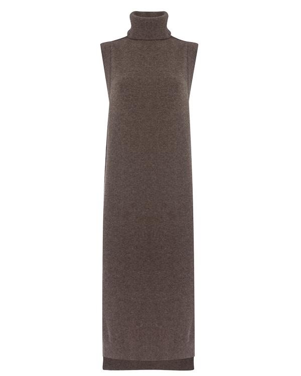 платье из трикотажной шерсти артикул DK12F17 марки Isabel Benenato купить за 22900 руб.