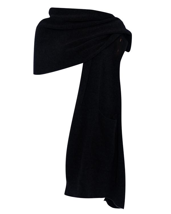 кардиган  шарф из шерсти с карманами  артикул DK20F17 марки Isabel Benenato купить за 21800 руб.
