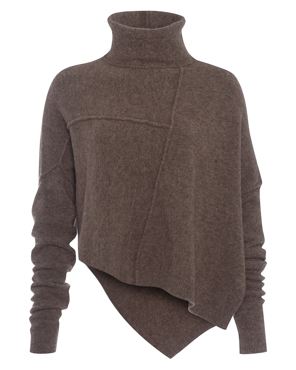 свитер из мягкой шерсти со швами наружу артикул DK21F17 марки Isabel Benenato купить за 21800 руб.
