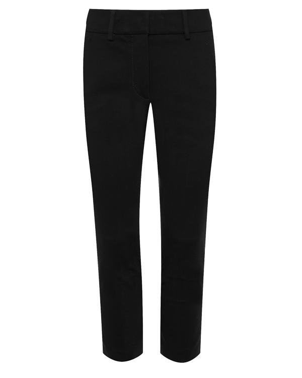 брюки укороченного силуэта из вискозы  артикул DP160JS108D марки DONDUP купить за 10400 руб.