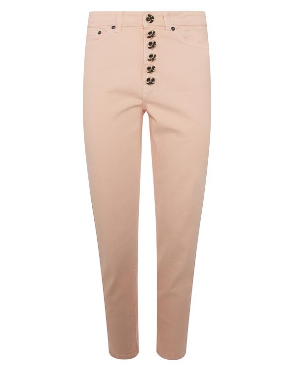 джинсы с высокой посадкой на талии артикул DP268-BS009D марки DONDUP купить за 12100 руб.