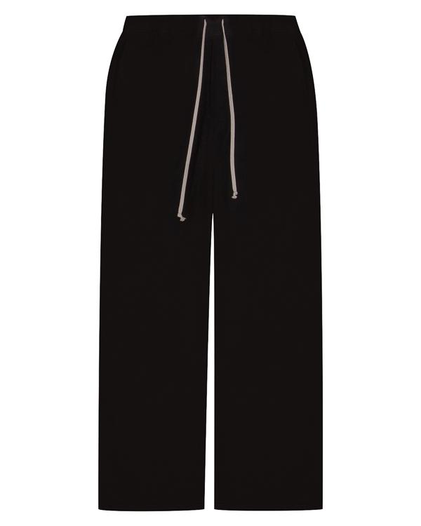 брюки свободного силуэта из хлопка  артикул DU17F2388BG марки RICK OWENS DRKSHDW купить за 21700 руб.