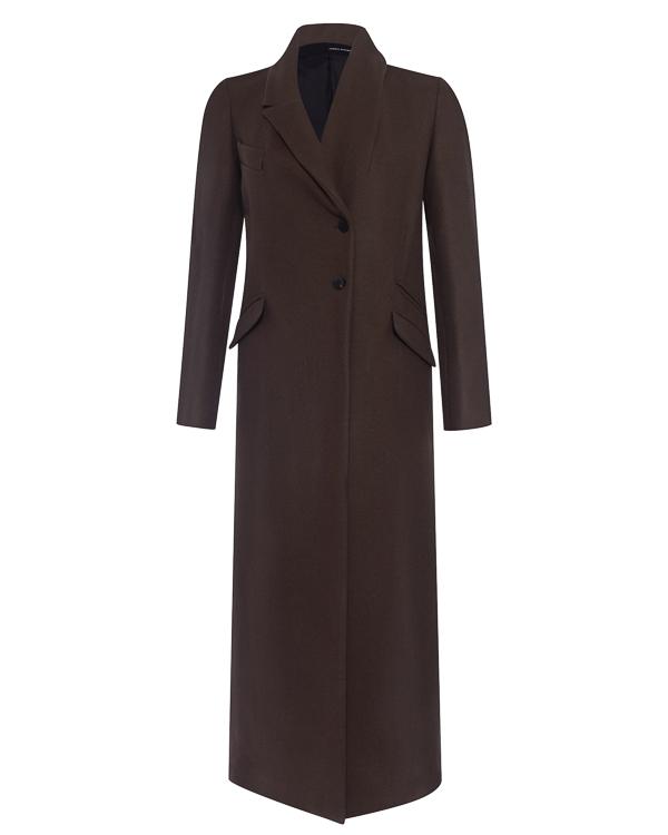 пальто из фактурного полушерстяного материала артикул DW61F17 марки Isabel Benenato купить за 62600 руб.