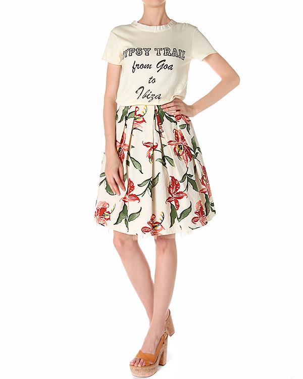 женская футболка SEMI-COUTURE, сезон: лето 2014. Купить за 7100 руб. | Фото $i