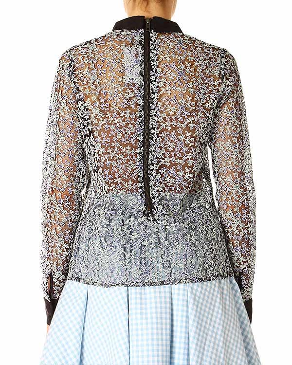 женская блуза Manoush, сезон: лето 2014. Купить за 9200 руб. | Фото $i