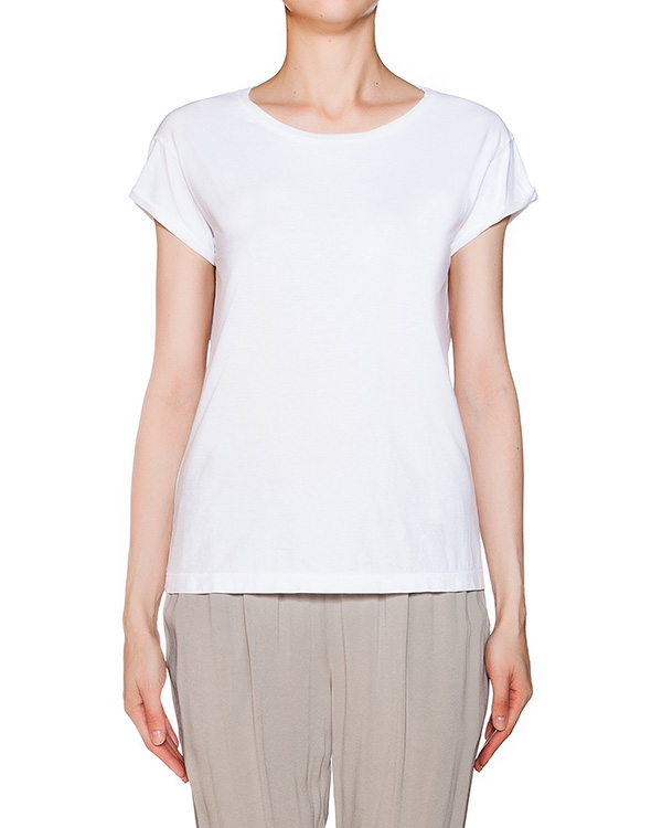 футболка из хлопкового трикотажа артикул EE3530 марки European Culture купить за 2600 руб.