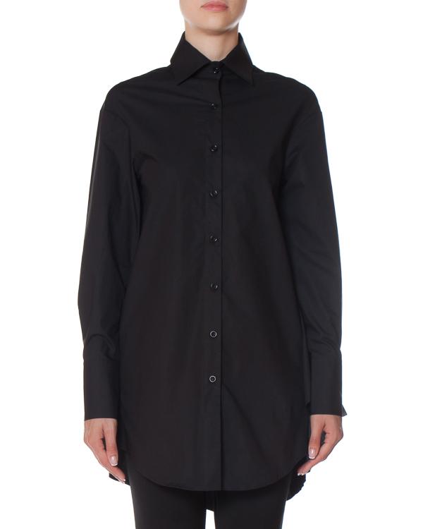 рубашка удлиненного силуэта с отделкой воланами  артикул EFINA марки Balossa купить за 12100 руб.