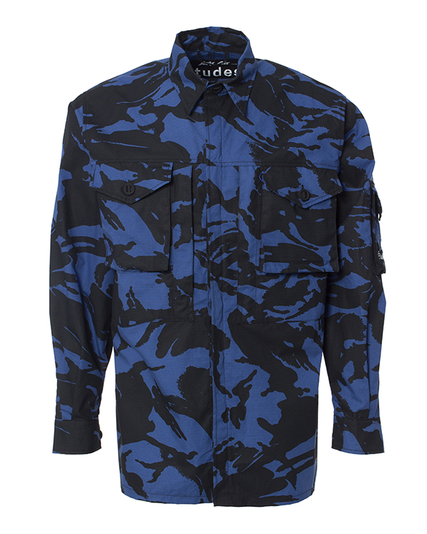 Études -рубашка из коллаборации Études x ArkAir артикул  марки Études купить за 27400 руб.