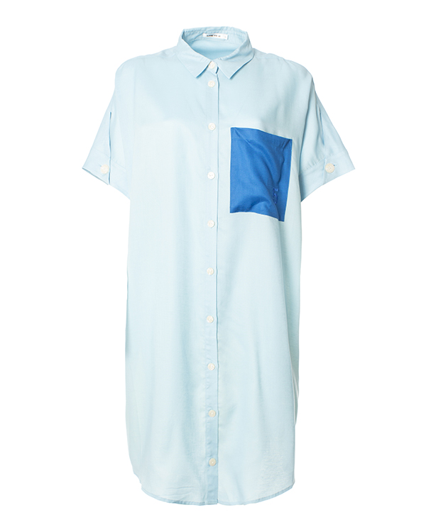 5Preview рубашечного кроя из тенселя и льна артикул  марки 5Preview купить за 11700 руб.