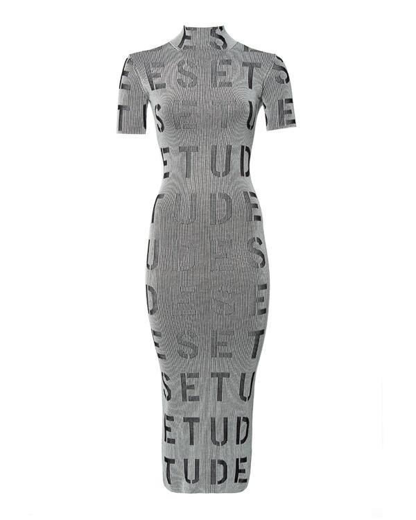 Études облегающего силуэта с принтом артикул  марки Études купить за 21700 руб.