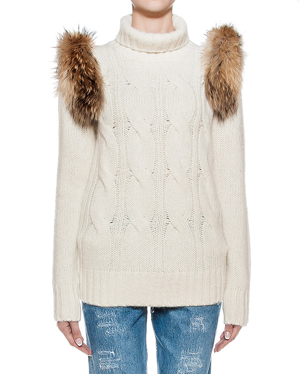 женская свитер Forte Couture, сезон: зима 2016/17. Купить за 24700 руб. | Фото $i
