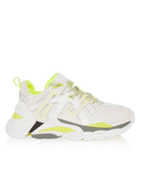 кроссовки на шнуровке со светоотражающими деталями артикул FLASH марки ASH купить за 21300 руб.