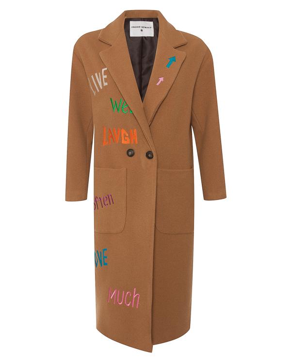 Front Street 8 из шерсти с цветной вышивкой артикул  марки Front Street 8 купить за 14900 руб.