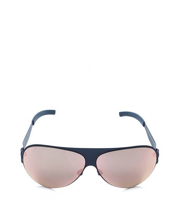 очки из сверхгибкого тонкого металла; безвинтовой шарнир; ручная работа артикул FRANZ марки MYKITA купить за 30400 руб.