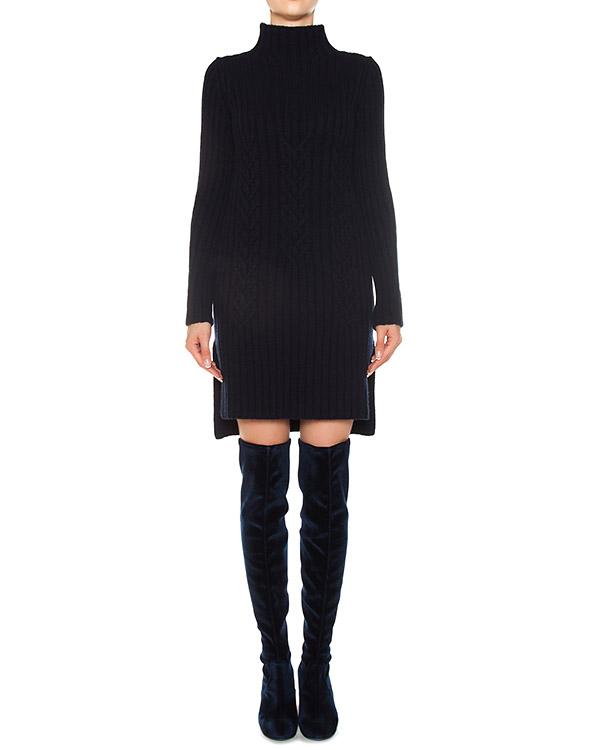 платье из трикотажной шерсти с разрезами  артикул FW170044 марки MRZ купить за 20700 руб.