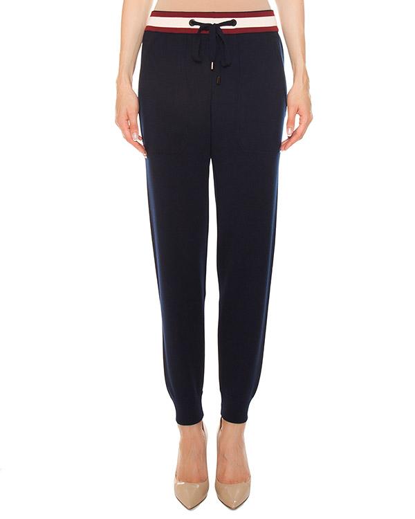 брюки в спортивном стиле из трикотажной шерсти артикул FW170088 марки MRZ купить за 27400 руб.